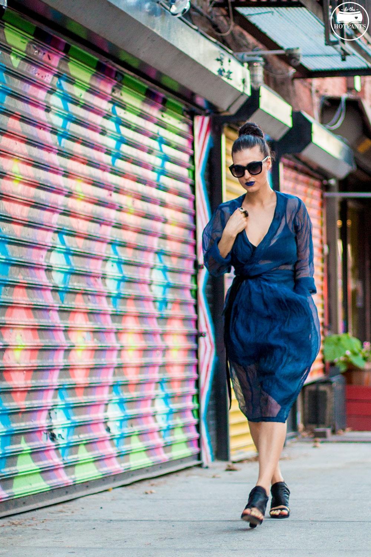 Do The Hotpants Dana Suchow Blue Lipstick Makeup Sheer Dress Fashion IMG_2843