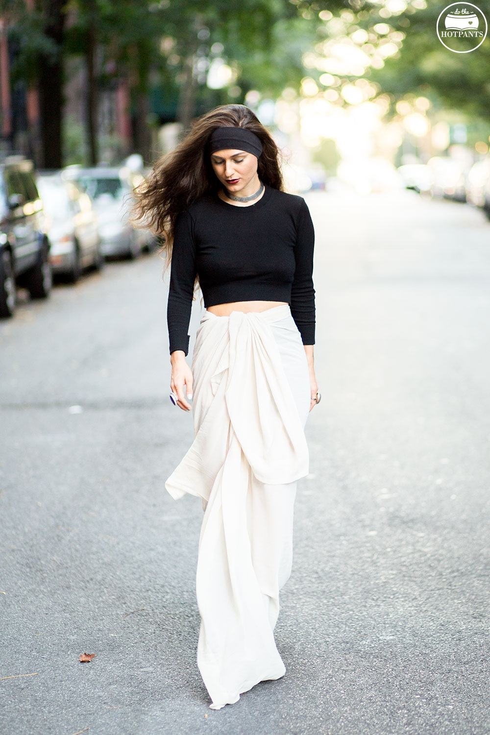 Do The Hotpants Dana Suchow Crop Top Sweater See Through Maxi Skirt No Bra Free The Nipple IMG_3289