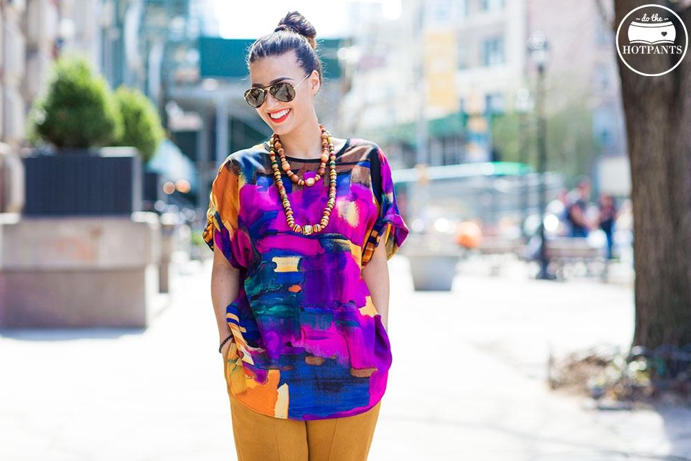 Do The Hotpants Dana Suchow Sunglass Hut Sunglasses NYC New York City Summer Fashion Streetstyle MJJ_2786