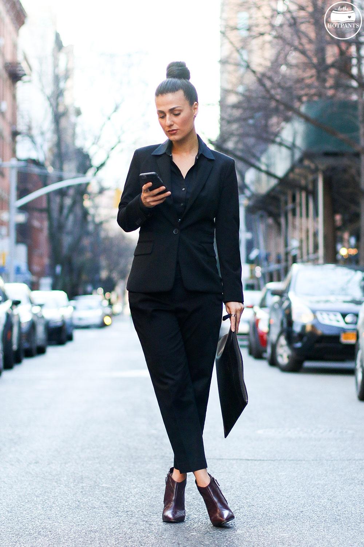 Do The Hotpants Dana Suchow Professional Outfit Interview Suit Woman in Suit Pantsuit Pant Suit Updo Female Business Attire IMG_6037