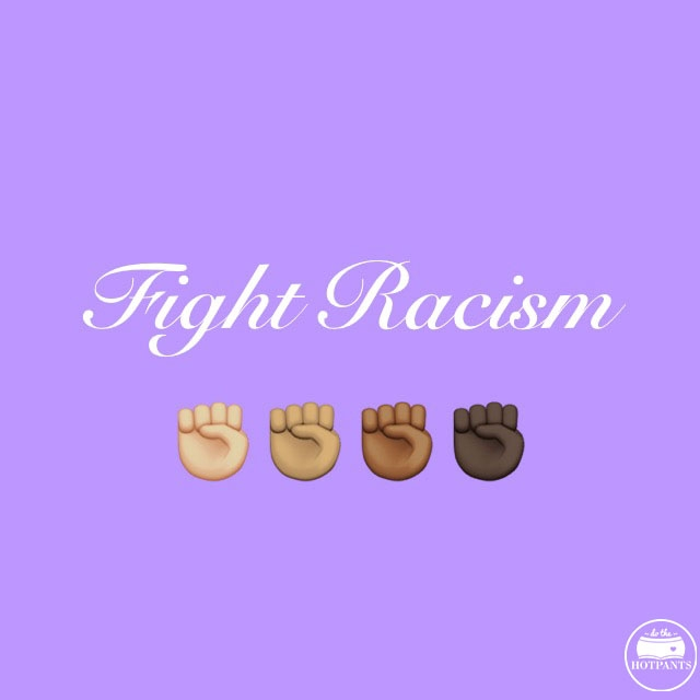 fight racism body positive quote