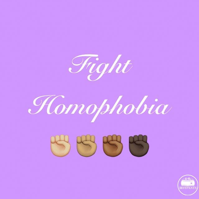 fight homophobia body positive quote
