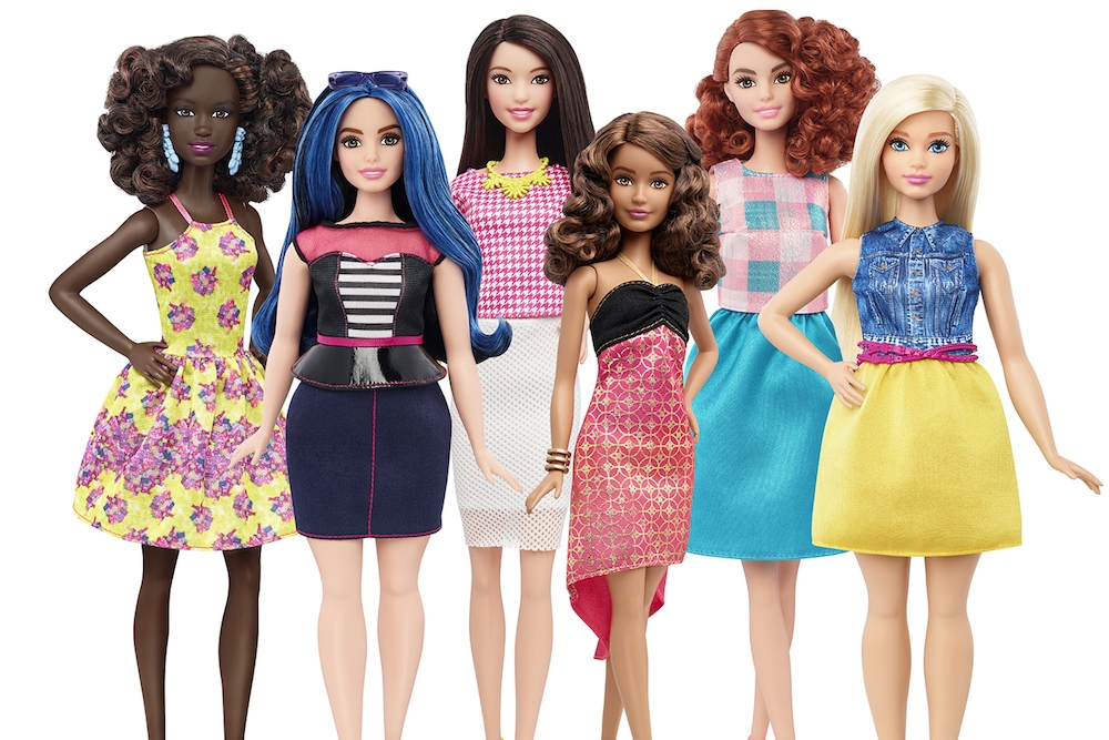 New Barbie 2016 Body Types